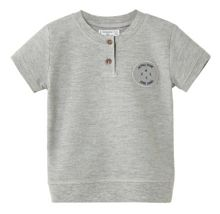 Mango Baby Patch henley t-shirt