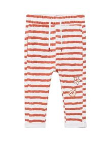 Mango Baby Striped cotton trousers