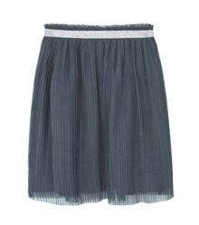 Mango Girls Metallic Tulle Skirt