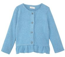 Mango Baby Cotton-blend cardigan