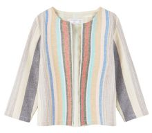 Mango Baby Structured striped jacket