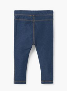 Mango Baby Denim leggings