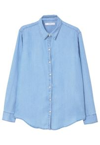 Mango Denim Soft Shirt
