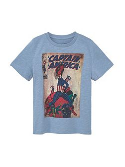 Boys Superhero cotton t-shirt