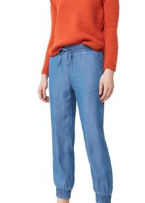 Mango Soft denim trousers