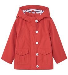 Mango Baby Cotton hooded coat