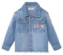 Mango Baby Patch Denim Jacket