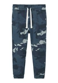 Mango Boys Camo-print jogging trousers