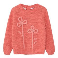 Mango Baby Embroidered cotton sweater
