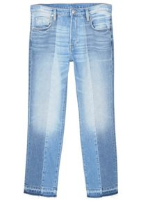 Mango Straight crop Mix jeans