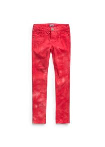 Girls Tie-dye denim trousers