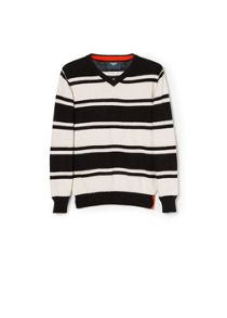 Boys striped wool-blend sweater