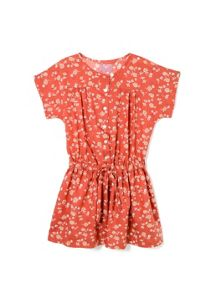 Girls floral printed dress