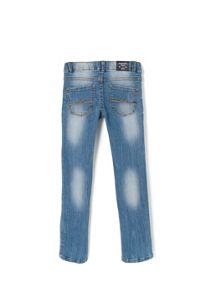 Girls slim-fit medium jeans