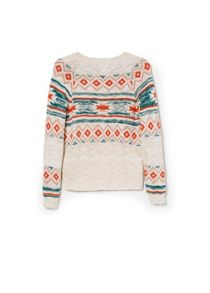 Girls jacquard sweater