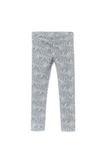 Girls zebra printed leggings