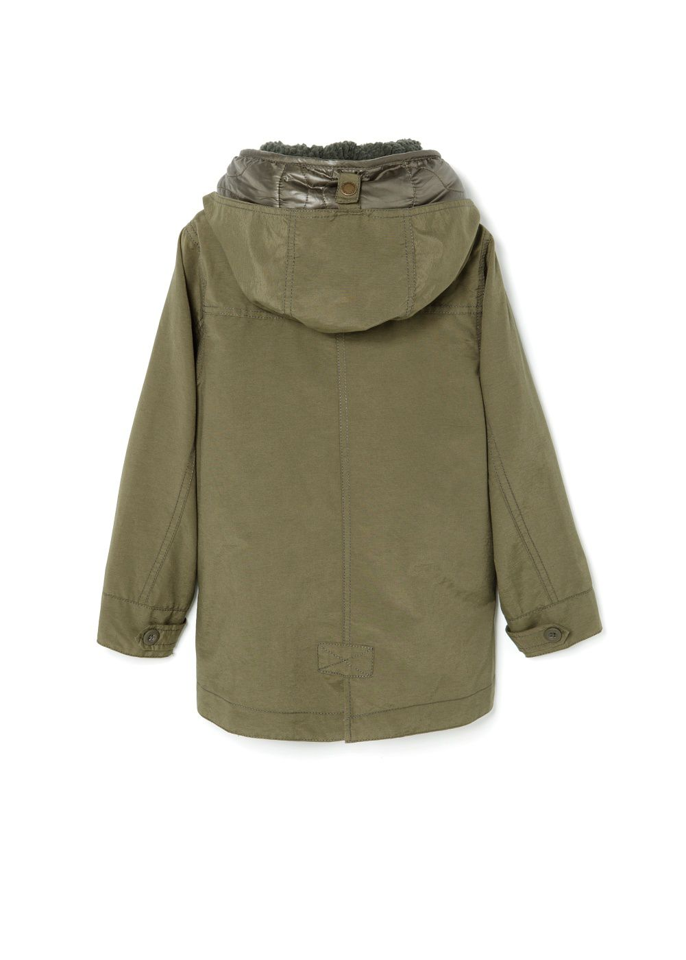 Boys detachable lining parka