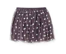 Girls polka-dot tulle skirt