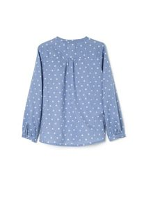 Girls star print blouse