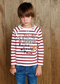 Boys ranger striped t-shirt