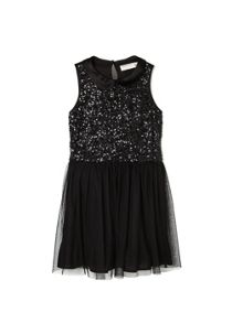 Girls sequin tulle dress