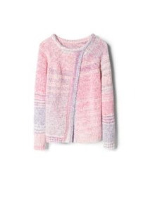 Girls back vent sweater