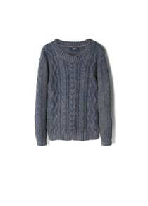 Boys cable-knit sweater