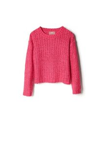 Girls Openwork Sweater