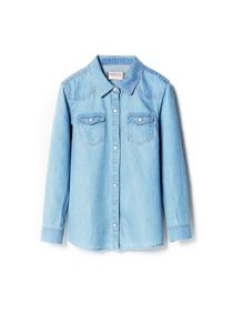 Girls light denim shirt