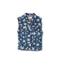 Girls Medium Denim Vest