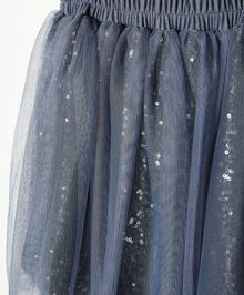 Girls sequin tulle skirt