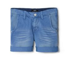 Boys Distressed Bermuda Shorts