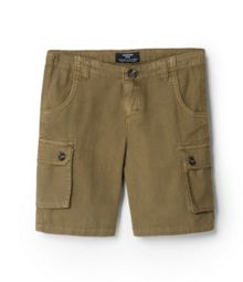 Boys Patch Pocket Bermuda Shorts