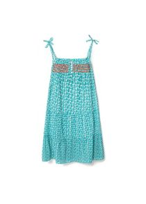 Girls  Embroidered Printed Dress
