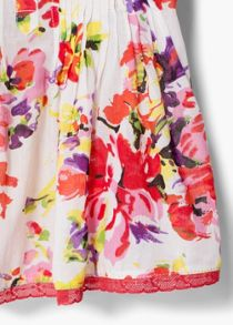 Girls Floral Print Blouse
