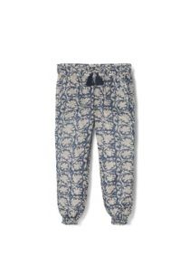 Girls Printed Flowy Trousers