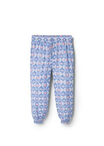 Girls Ethnic Flowy Trousers