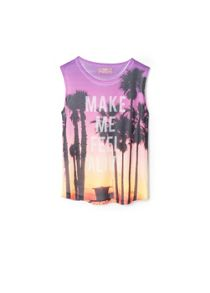 Girls Photo Print T-Shirt