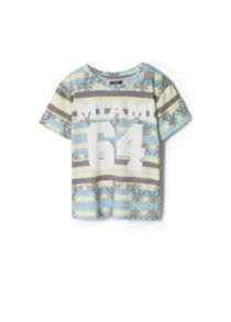 Boys Tropical Print T-Shirt
