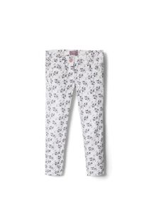 Girls Floral Print Trousers