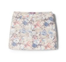 Girls Floral Print Skirt