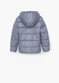 Girls water-repellent quilted jacket