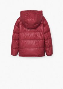 Boys Quilted hooded coat