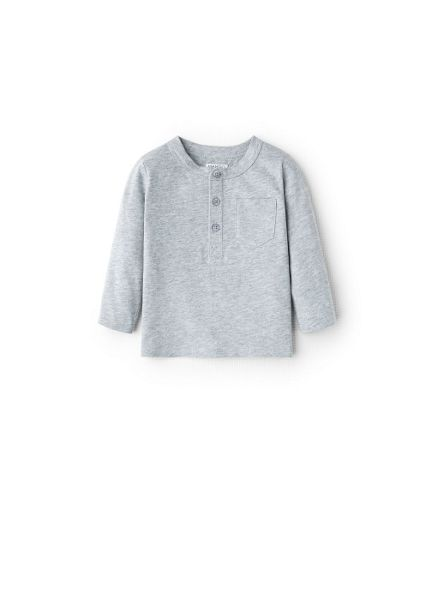 Mango Boys pocket cotton t-shirt