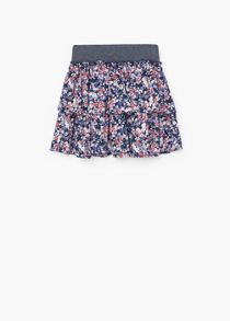 Mango Girls ruffled skirt