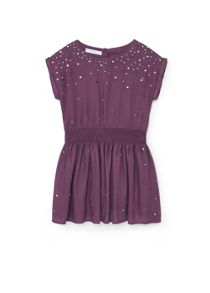 Mango Girls Sequin beaded dress