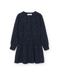 Girls Star print dress