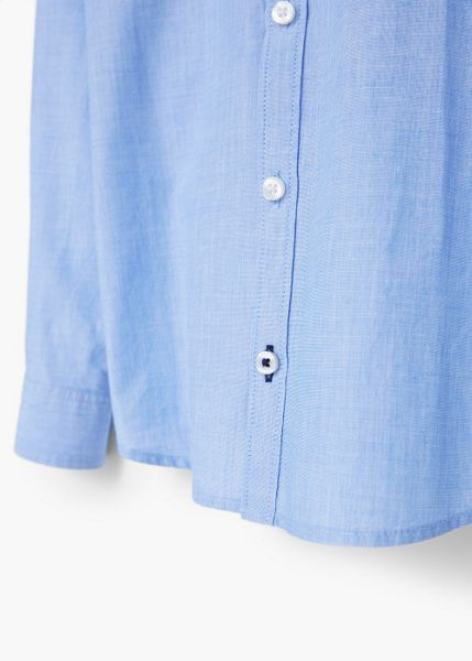 Mango Boys pleated printed shirt