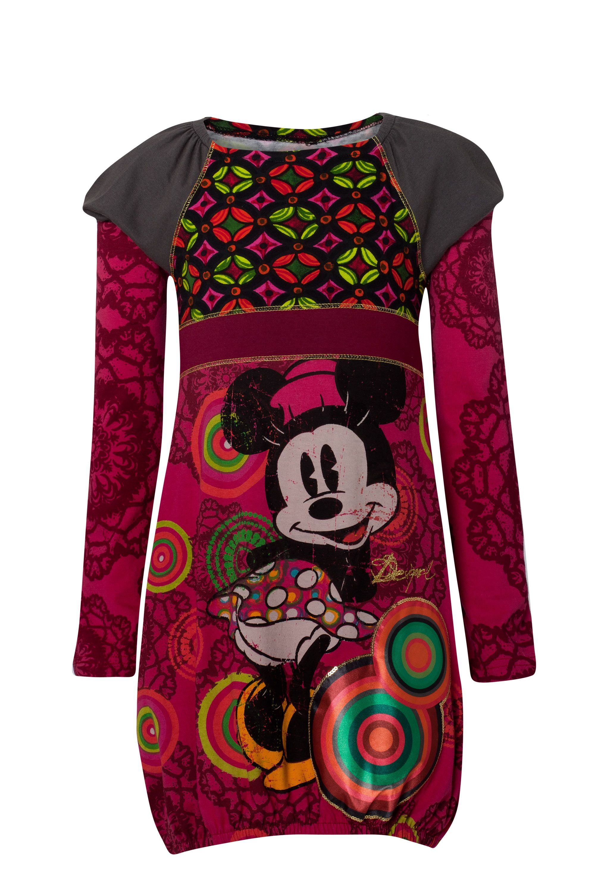Girl`s cir Minnie Mouse dress