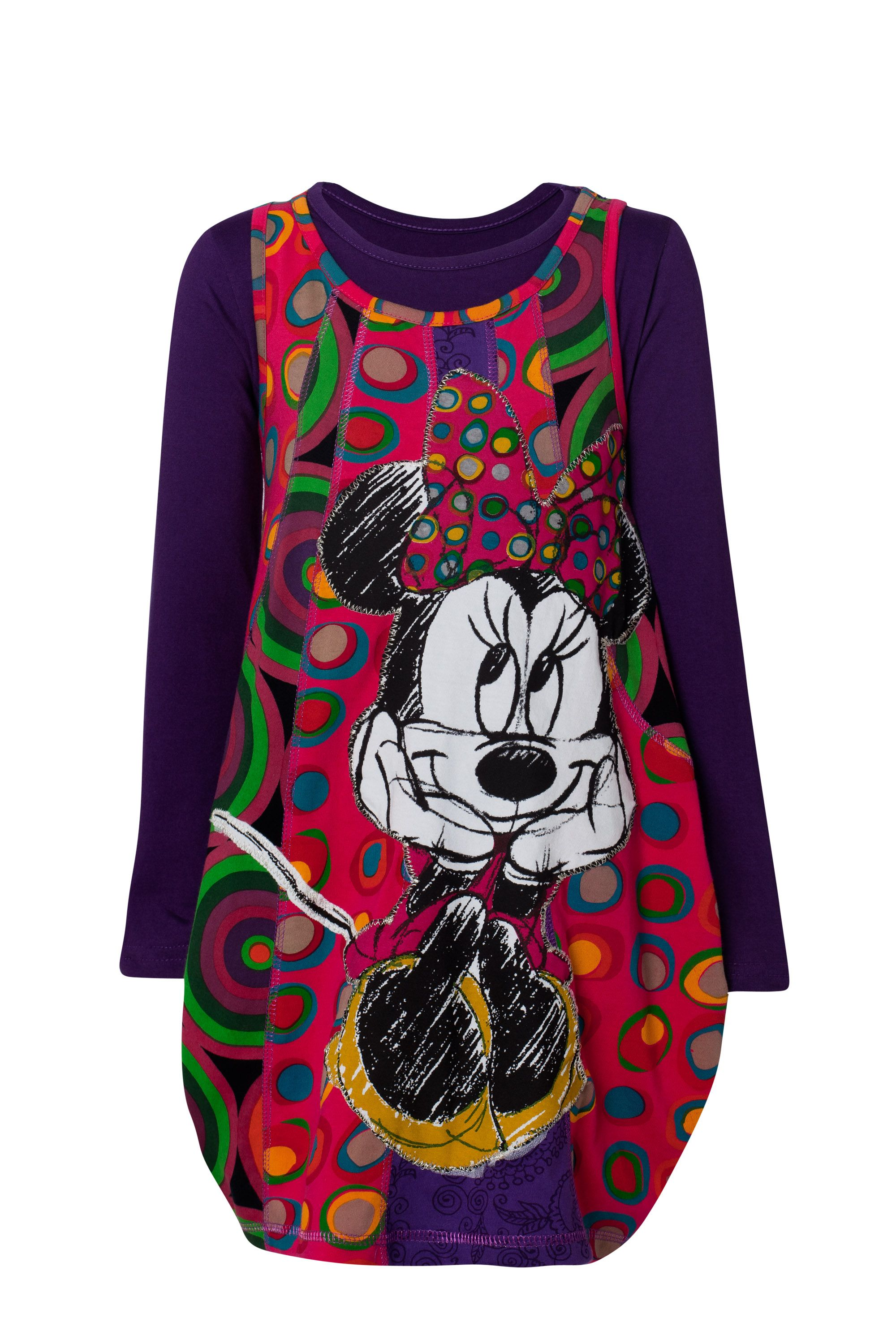 Girl`s plat Minnie Mouse dress